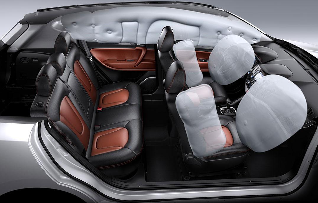 第二代瑞风S5—6安全气囊