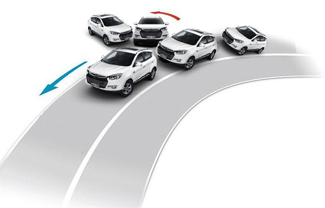 第二代瑞风S5—ESC电子车身稳定控制系统