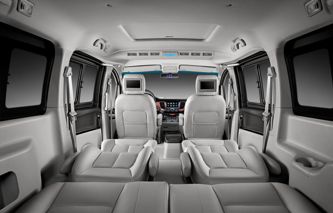 瑞风M5—全席座椅靠背头枕调节+多种座椅组合
