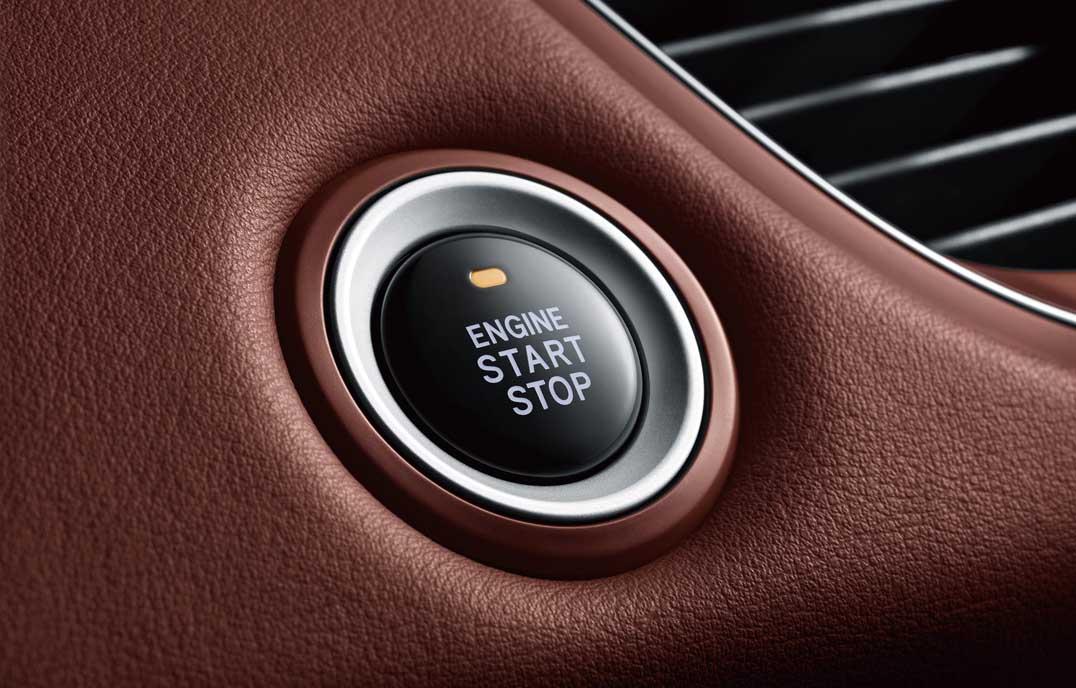瑞风M5—一键启动、无钥匙进入