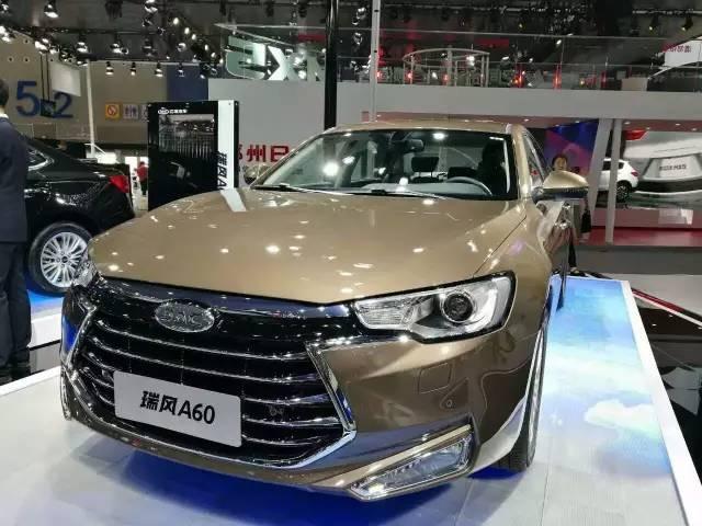 江淮瑞风A60上市售13.95万 17.95万中高级技术座驾高清图片