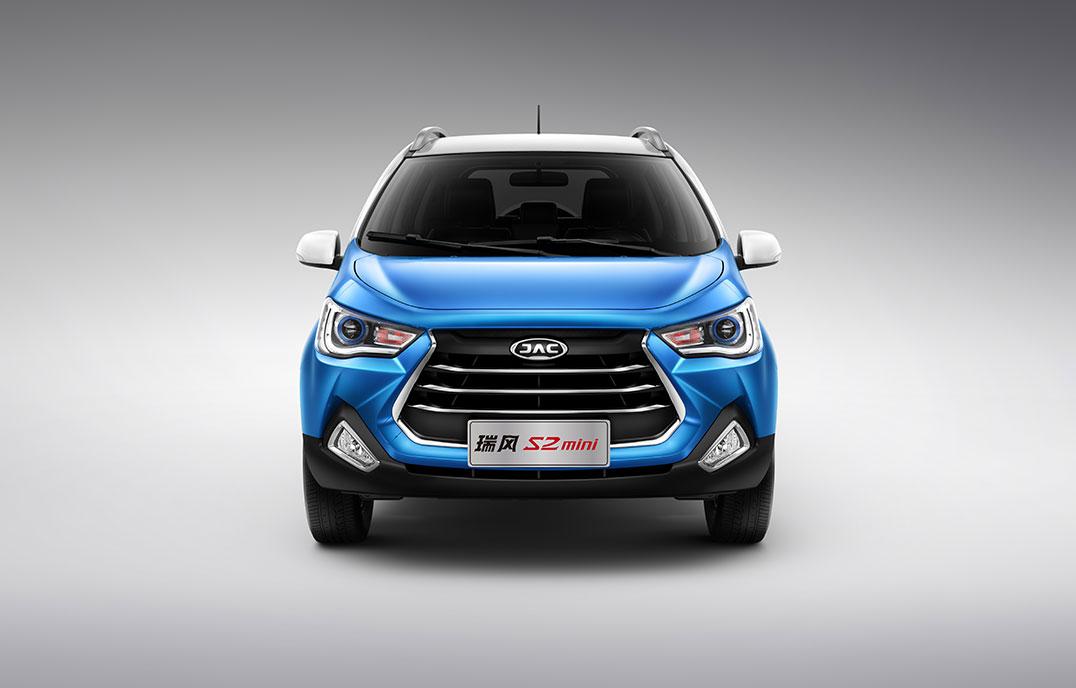瑞風(feng)S2mini - 小型(xing)SUV整車(che)正(zheng)前臉(lian)