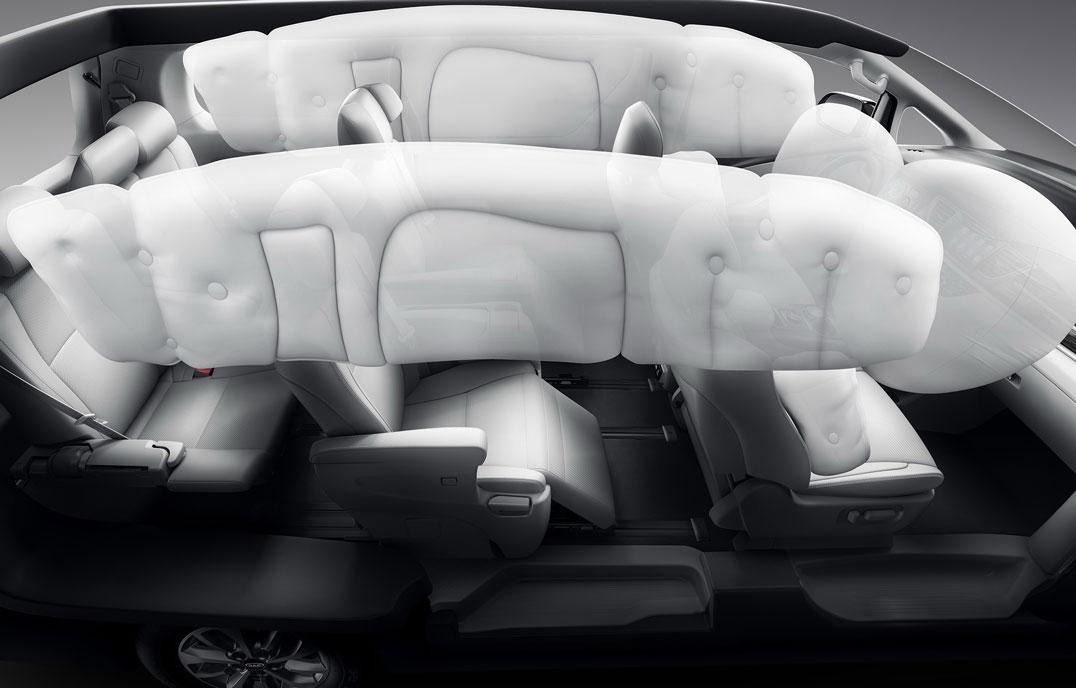 瑞风M6 - 360度安全气囊保护系统