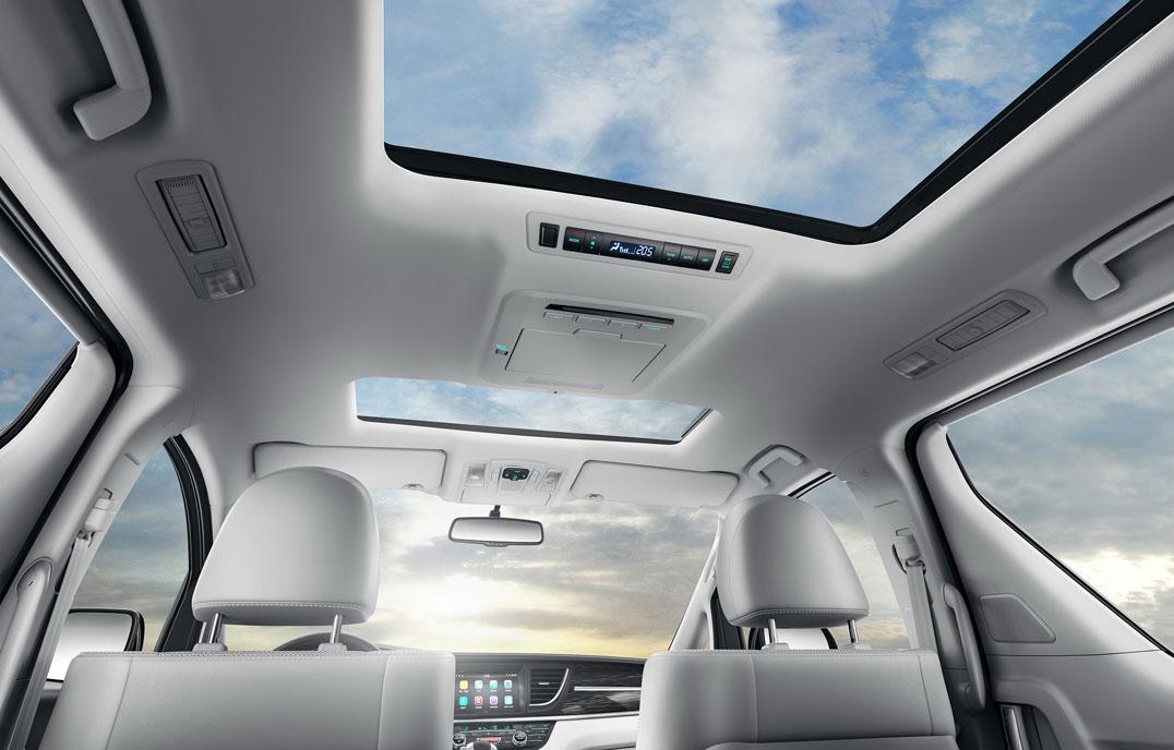 瑞风M6 - 双模电动天窗