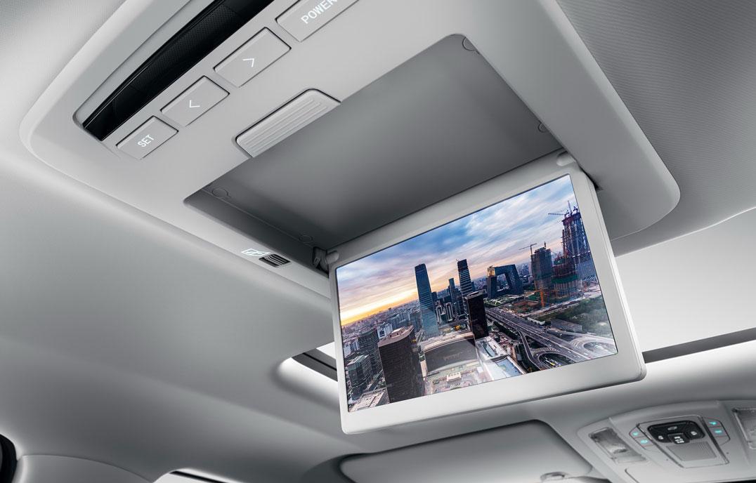 瑞风M6 - 时尚挂式液晶点电视